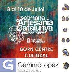 Del 8 al 10 de Julio expondremos nuestras nuevas colecciones en THE CRAFTROOM, en el edificio del BORN CENTRE CULTURAL (Plaça Comerç 12, Barcelona) Os esperamos