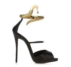 Giuseppe Zanotti Python Sandals