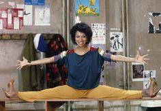 Debbie Allen. Mad limber... #stretch