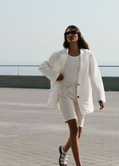 style inspiration + summer aesthetic + fashion + vacation outfit + beauty + beach look + sunglasses + tanned + mood board + sun kissed Womens Fashion Online, Latest Fashion For Women, Capsule Wardrobe, Fashion Pants, Fashion Outfits, Frock Fashion, Fashion Tips, Looks Style, My Style