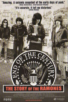 Ramones - End of the century Magnolia Recital, Hey Ho Lets Go, Ska Punk, In And Out Movie, Iggy Pop, Rock N Roll Music, Concert Posters, Film Posters, Ramones