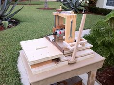 Horizontal mortiser plans at wood gear.ca