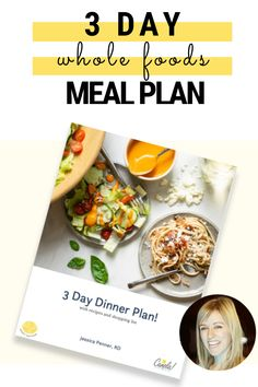 Take a break from deciding what's for dinner! Download this 3 day meal plan, gather your groceries, and enjoy cooking! | meal plan | meal planning | healthy eating | whole foods | eat healthy | dinner ideas | easy dinner | #easydinner #easysupper #dinnerideas #supperideas #sheetpandinner Easy Healthy Dinners, Eat Healthy, Breakfast Recipes, Dinner Recipes, Best Meal Prep, Smart Nutrition, Free Meal Plans, Whole Food Recipes, Dinner Ideas