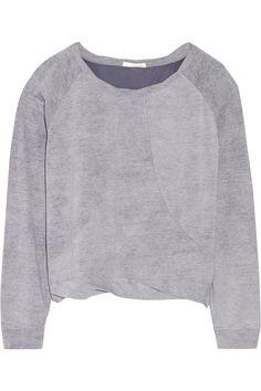 Skin|Pima cotton-jersey sweatshirt|