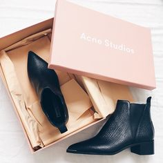 Acne Studios - Jensen Boot whoppin' $560.00  That pointed toe! That subtle hardware! lust-lust-lust-lusting