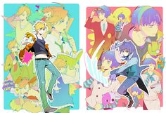 I think Panty and Stocking have some of the most genderbent fanart; only second to Hetalia. ...but I guess Hetalia doesn't count since Nyotalia is cannon??