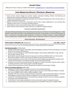 Chief Marketing Officer Resume Enchanting Technical Recruiter Resume Example  Resume Examples And Template