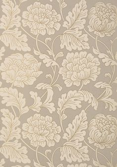HATHAWAY, Pewter on Putty, T10076, Collection Neutral Resource from Thibaut