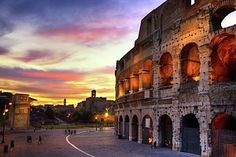 Sunset Photograph - Colosseum At Sunset by Christopher Chan