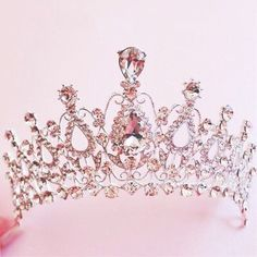 """springgette: """"Tiara You know You are a princess ! ↳ please click the links a. springgette: """"Tiara You know You are a princess ! ↳ please click the links a. Princess Aesthetic, Pink Aesthetic, Royal Jewels, Crown Jewels, Cute Jewelry, Hair Jewelry, Jewellery, Pink Princess, Princess Tiara"""
