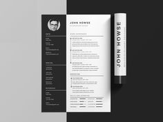 Free Clean CV Template With Cover Letter For Your Next Job Opportunity. It  Is Clean