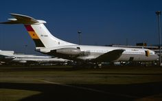 Ghana Airways Vickers Standard VC10 (Series 1100) 9G-ABO (c/n: 823), date and location unknown.