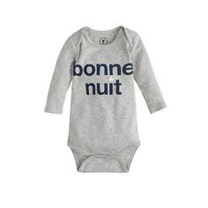 J.Crew - Baby bonne nuit one-piece