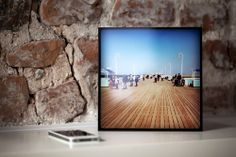 PLEXICONS are flexible. You can hang it on a wall or put it on your desk or windowsill. Each PLEXICON comes with a desk stand.  PLEXICONS are 20x20cm square tiles with a perfect glass like effect.