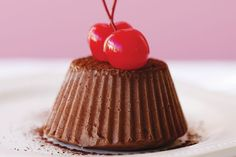 Christmas cheer and cherries go hand in hand, and good-quality dark chocolate makes the occasion even merrier, so we& found a way to combine the two. How To Make Chocolate, Melting Chocolate, Dariole Moulds, Organic Delivery, Cooking Tips, Cooking Recipes, Cake Truffles, Xmas Food, Love Eat