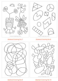 Be Different...Act Normal: Abstract Coloring Pages for Kids [Printable]