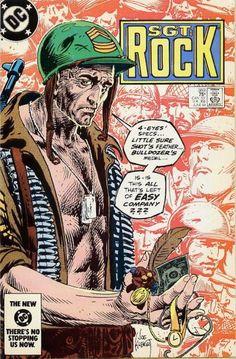 cover by Joe Kubert Comic Book Superheroes, Dc Comic Books, Comic Book Covers, Comic Art, War Comics, Anime Comics, Joe Kubert, Western Comics, Classic Comics