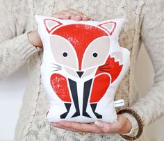 Forest Animal Print Pillows Uncovet