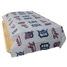 Detroit Tigers MLB Twin Pack Table Covers (2 Covers)