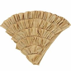 Burlap Natural Ruffled Tree Skirt 48 For questions on this or any other product on this site, please use the about us here.FEATURESSingle fabricMachine stitchedSoft cotton natural shade burlapA charmi