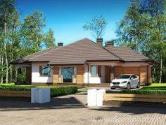 Gotowy projekt domu Sułtan N www.dominanta.pl
