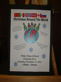 ward christmas party ideas christmas around the world christmas party decorations christmas party themes - Christmas Around The World Decorations For A Party