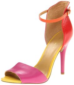 Vivacious d'orsay lines impart vixen-appeal to Nine West's Acre pump