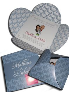 Convite de Casamento Especial 09