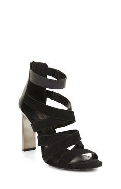 Runway Dhara Multi-Strap Day Sandal 6 Inch Heels, Metallic Heels, Shoe Sale, Casual Wear, Open Toe, Ankle Strap, Runway, Pairs, Sandals