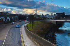 Moody skies over Riverside Drive. Aberdeen Scotland, City And Colour, Riverside Drive, Silver City, North Sea, Sky, Sweet, Heaven, Candy