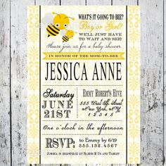 Baby shower Bee theme.  LOVE THIS!