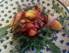 Apple, bacon and rocket salad / Sałatka z jabłkiem, boczkiem i rukolą