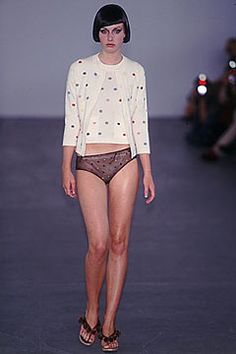 Clements Ribeiro Spring 2000 Ready-to-Wear Fashion Show