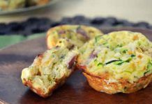 mini muffins courgette et fromage au thermomix