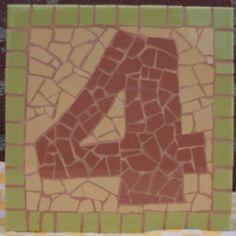 Mosaic Huisnummer