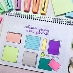 25 Awesome Bullet Journal Ideas to Boost your Motivation Bullet Journal School, Bullet Journal Notes, Study Inspiration, Bullet Journal Inspiration, Bullet Book, Lettering Brush, Stabilo Boss, Lettering Tutorial, School Notes