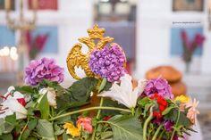 Ikaria, flowers and religion Ikaria Greece, Greek Culture, Greek Islands, Mykonos, Easter, Greek Life, Table Decorations, Holiday, Flowers