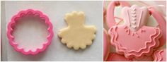 Decorated Tutu Cookies.  No tutu cutter required.  Sweet Sugarbelle.