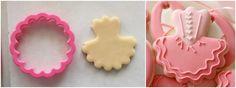 Decorated Tutu Cookies. No tutu cutter required. Sweet Sugarbelle.