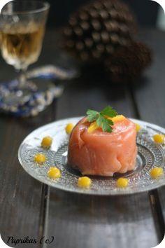 Charlotte au saumon