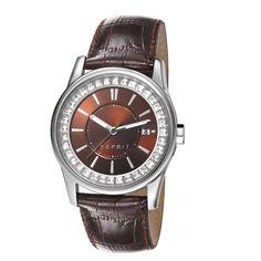 Ceasuri dama - Ceas de dama Esprit Starlite Brown ES105452007 - Zibra