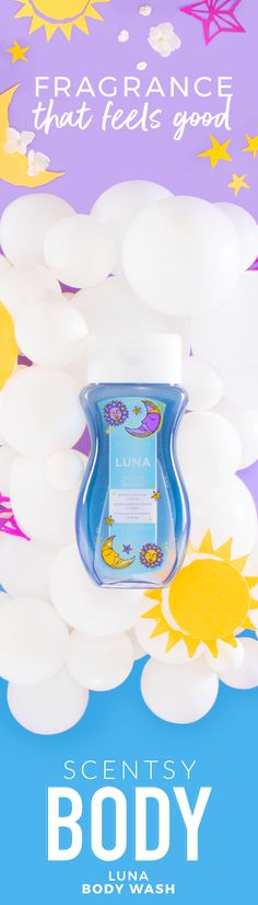 Lather. Rinse. Repeat. Introducing the ultimate everyday cleanser, with a rich, luxurious lather and skin-pampering sunflower oil and aloe. Paraben-free. 8 fl. oz. Formulated with Vitamin E and aloe leaf to cleanse, moisturize and smooth skin. White florals — jasmine, sweet pea and freesia — juicy berries and sandalwood shimmer like moonlight.