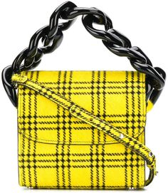 0dcdde5a1f58 Marques Almeida Marques almeida Tartan Chain mini bag Types Of Handbags