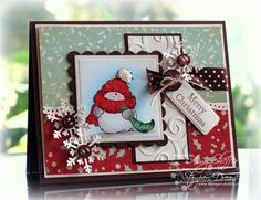 Holly Jolly By Golly by PickleTree - Cards and Paper Crafts at Splitcoaststampers