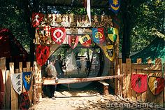 Medieval camp gate - awesome