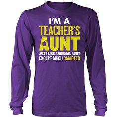 Teacher - Smarter Aunt