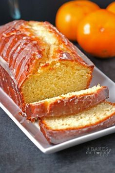 Tangerine Cake The bright fresh flavor of tangerine is baked into a loaf cake and glazed with a simple, delicious tangerine icing.The bright fresh flavor of tangerine is baked into a loaf cake and glazed with a simple, delicious tangerine icing. Food Cakes, Cupcake Cakes, Cupcakes, Just Desserts, Delicious Desserts, Dessert Recipes, Yummy Food, Loaf Cake, Pound Cake