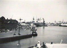 Dannebro ankommer 1950