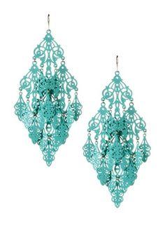 Gabrielle Earrings - chandeliers for your ears!