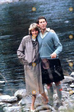 Charles & Diana on Honeymoon in Scotland